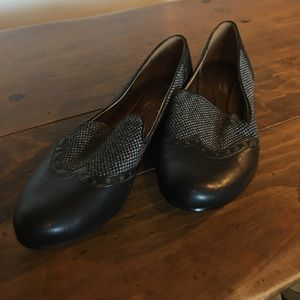 Naturalizer Shoes - Naturalizer Black / Grey Loafer size 10